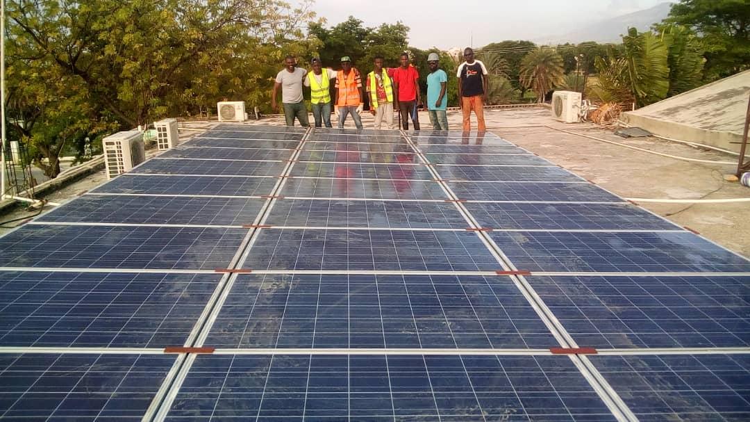 Innovating Health International Solar Install